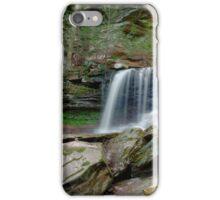Summer Flow Over B. Reynolds Falls iPhone Case/Skin