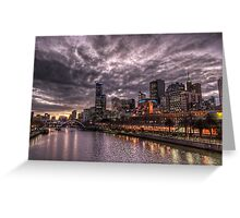 Vibrant Melbourne Greeting Card