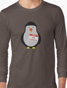 Luke Hemmings 5sos Penguin Long Sleeve T-Shirt