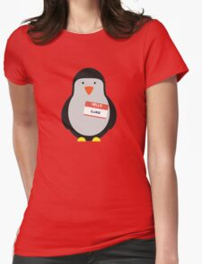 Luke Hemmings 5sos Penguin Womens Fitted T-Shirt