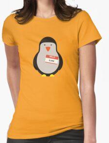 Luke Hemmings 5sos Penguin Womens Fitted T-Shirt