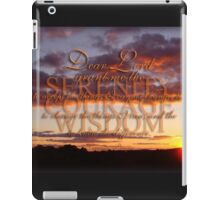 The Serenity Prayer  iPad Case/Skin