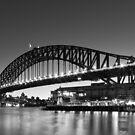 Towards the Bridge by Mark  Lucey