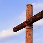 Old Rugged Cross Side View by Kenneth Keifer