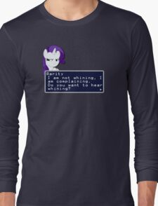 My Little Pony Rarity Quote Shirt Long Sleeve T-Shirt