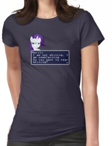 My Little Pony Rarity Quote Shirt Womens Fitted T-Shirt