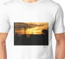 Sunrise in Sacramento, CA 10-8-2015 Unisex T-Shirt