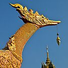 Modern Shrine Dragon. Hua Hin, Thailand. by johnrf