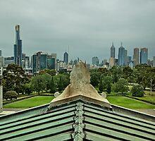 Melbourne Skyline by Krishna Gopalakrishna