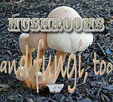 Calendar - Mushrooms and Fungi, Too by MotherNature