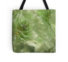 Christmas Weed  Tote Bag