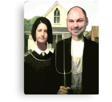 Kris and Leslie Canvas Print