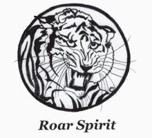 Roar Spirit Tiger Circle One Piece - Long Sleeve