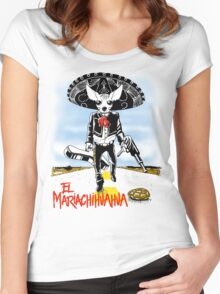 El Mariachihuahua Women's Fitted Scoop T-Shirt