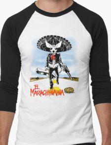 El Mariachihuahua Men's Baseball ¾ T-Shirt