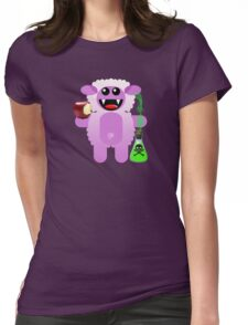 SHEEP 6 (With a little pec of poison!) Womens Fitted T-Shirt