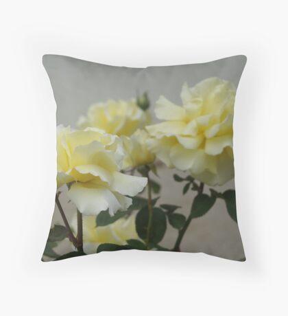Elegant Yellow (2) Throw Pillow