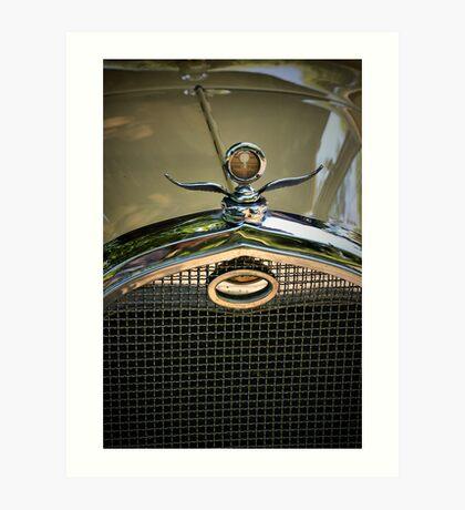 Packard Grill Art Print