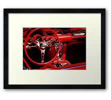 Behind the Wheel Framed Print