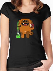 DOG 6 (With a little pec of poison!) Women's Fitted Scoop T-Shirt