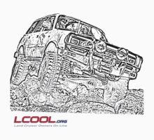 Landcruiser Line drawing by NemesisGear