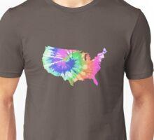 Tie Dye USA Unisex T-Shirt