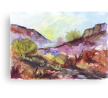 Magaliesberg mountain range Canvas Print