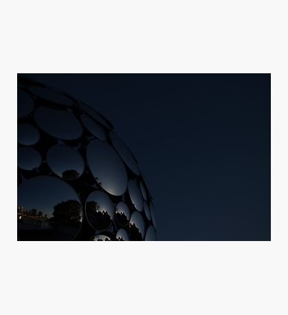 Mirror Ball- South Bank Brisbane Photographic Print