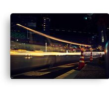 Taxi Ghost Canvas Print