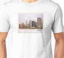 New York Skyline Polaroid Unisex T-Shirt