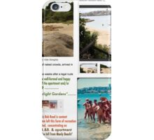 Bed and Breakfast / Self-contained apartment - both up the hill from Manly Beach.  iPhone Case/Skin