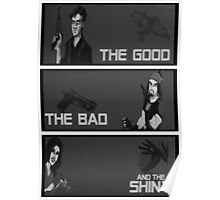 The good,the bad and the SHINY! Poster