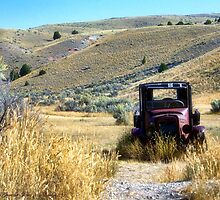 Broken Down in Bannack by rocamiadesign