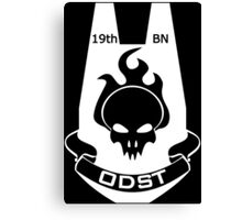 We Are ODST (White Logo) Canvas Print