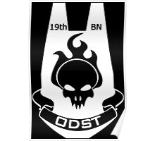 We Are ODST (White Logo) Poster