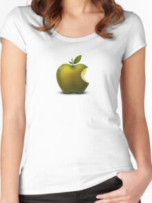 Apple Fruit Women's Fitted Scoop T-Shirt