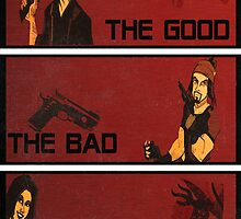 The good,the bad and the SHINY! by kurticide
