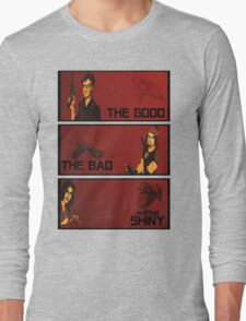The good,the bad and the SHINY! Long Sleeve T-Shirt