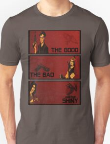 The good,the bad and the SHINY! Unisex T-Shirt