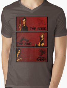 The good,the bad and the SHINY! Mens V-Neck T-Shirt