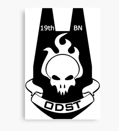 We Are ODST (Black Logo) Canvas Print