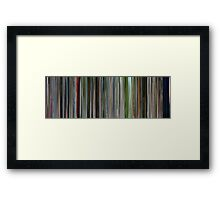 Moviebarcode: I'm a Cyborg, But That's OK (2006) Framed Print