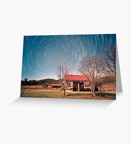 February Stars ... Greeting Card