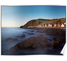 Crovie, Aberdeenshire, Scottish Highlands Poster
