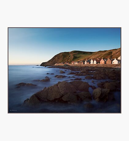 Crovie, Aberdeenshire, Scottish Highlands Photographic Print
