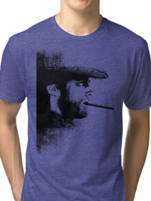 THE MAN WITH NO NAME Tri-blend T-Shirt