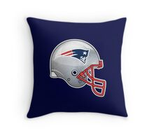 Patriots helmet Throw Pillow