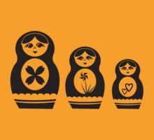 Babushka Dolls by Jonmcnab