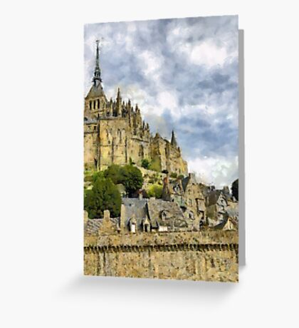 Mont Saint Michel, France Greeting Card