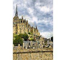 Mont Saint Michel, France Photographic Print